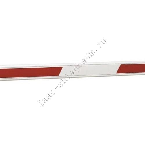 Стрела шлагбаума FAAC прямоугольная 50х100мм,с наклейками, длина 5000мм