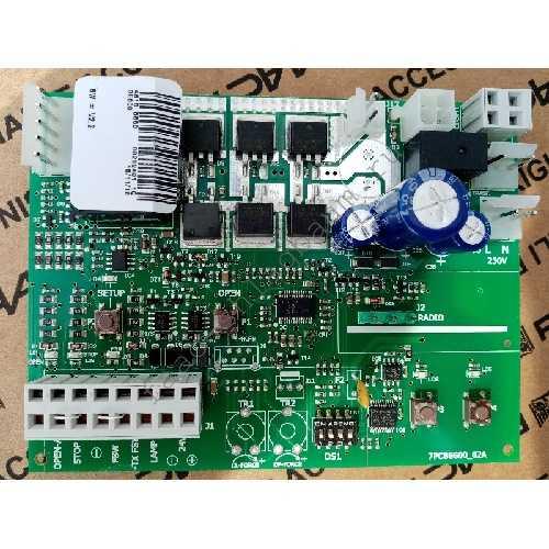 Плата управления E600 встраиваемая для приводов FAAC D064, D600