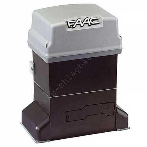 Привод FAAC 746ER Z16 для откатных ворот, комплект до 0,6т
