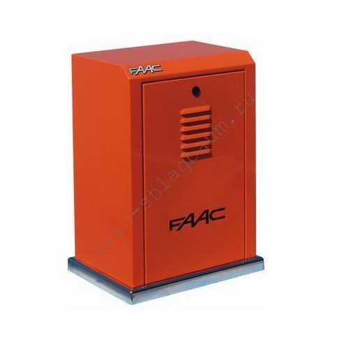 Привод FAAC 884MC 3PH для откатных ворот, 380 В до 3,5т