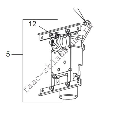 63000592 Мотор-редуктор FAAC 617/6